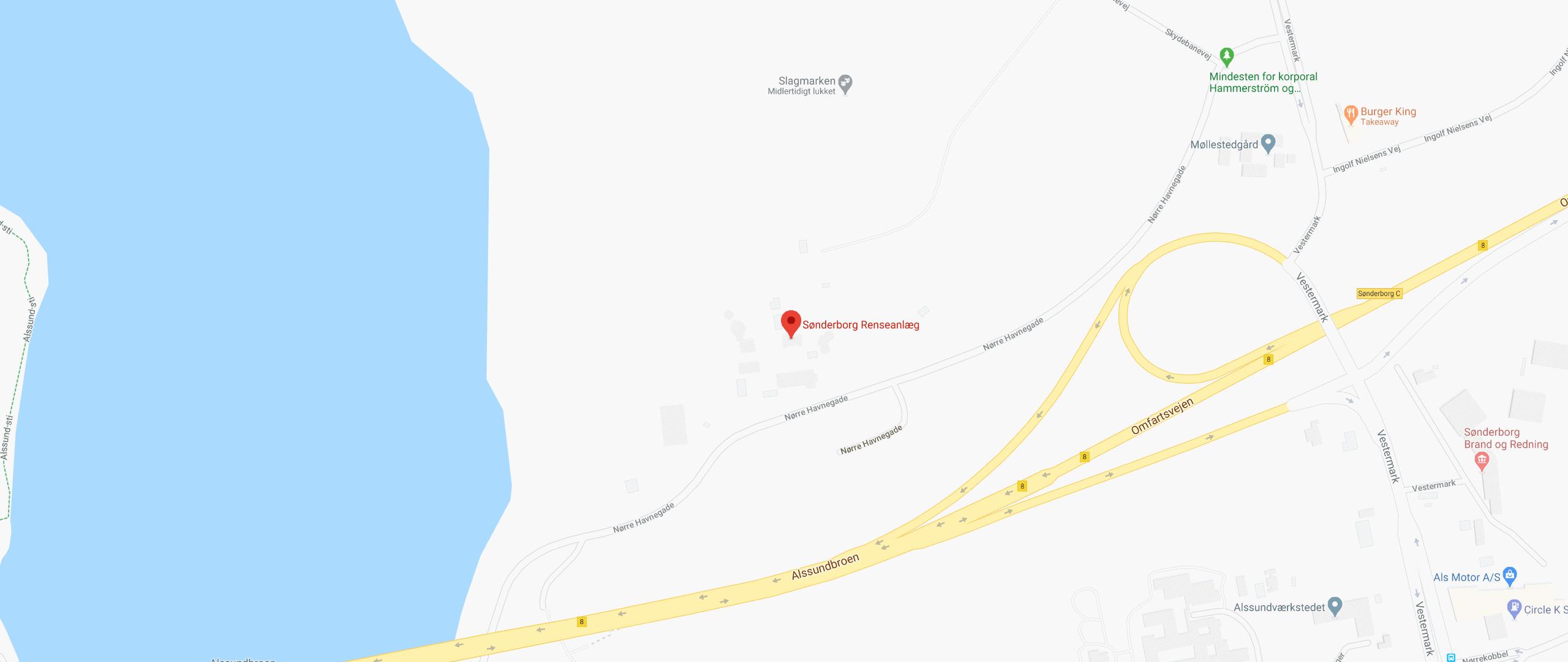 Sønderborg Renseanlæg, Under Broen 15, Sønderborg