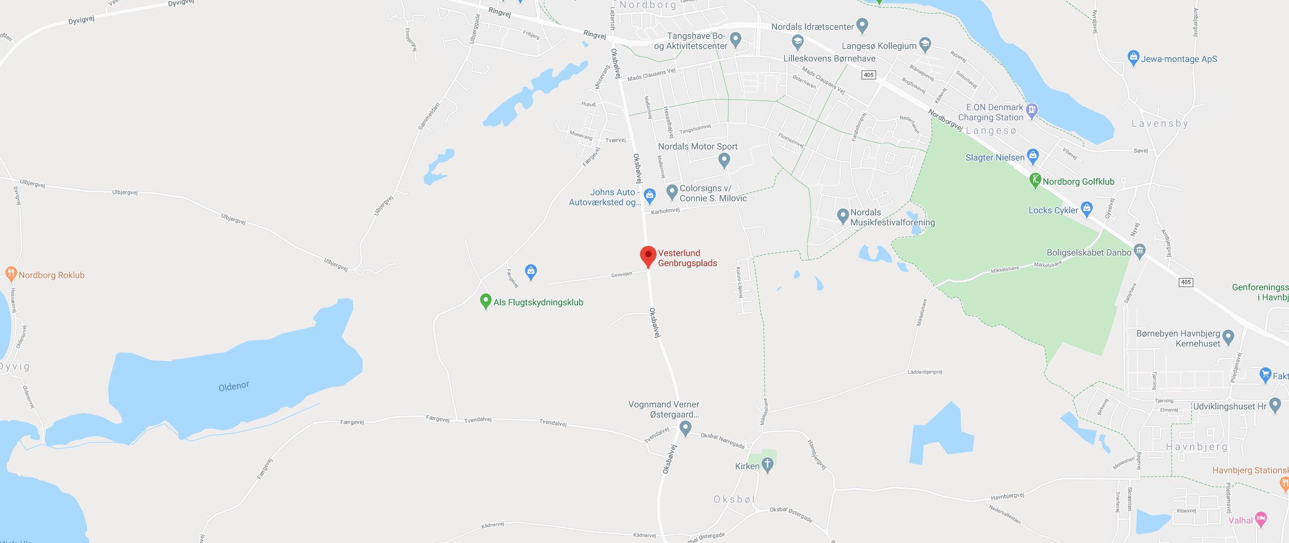 Vesterlund Genbrugsplads, Genvejen 1-5, Nordborg
